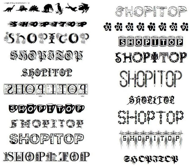 Different Tattoo Styles Fonts