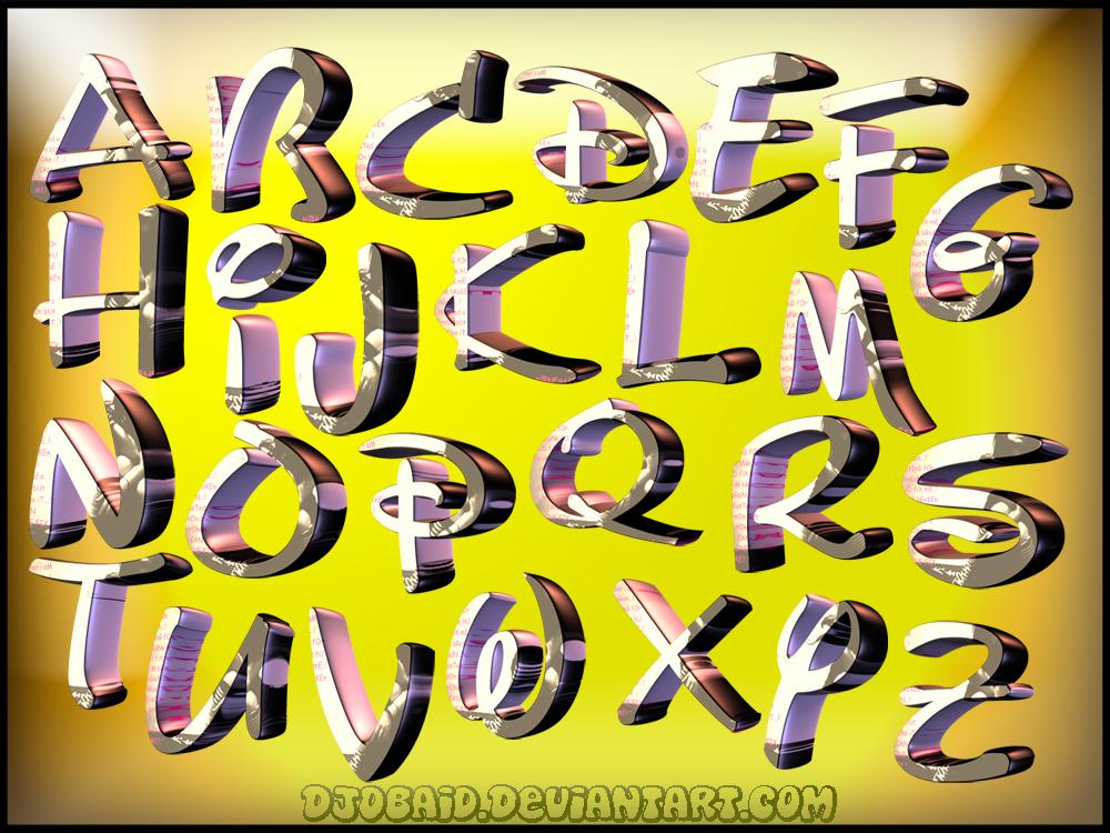 Disney Letters Font Download