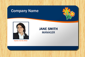 Employee ID Badge Template