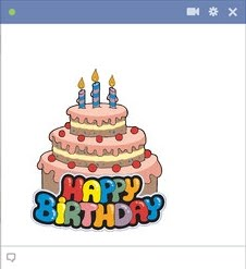 9 Birthday Cake Emoticon Images