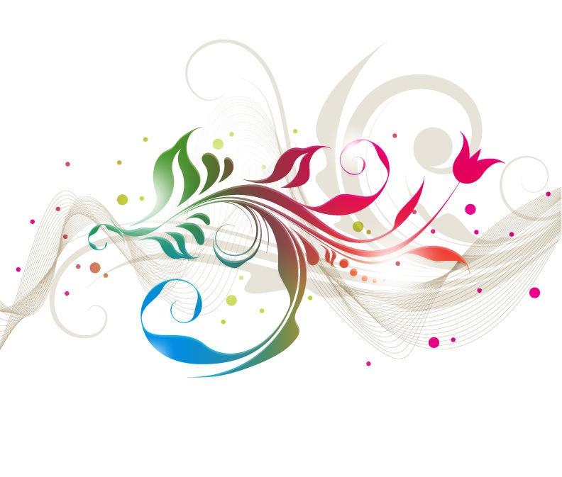 Floral Design Graphic Vector