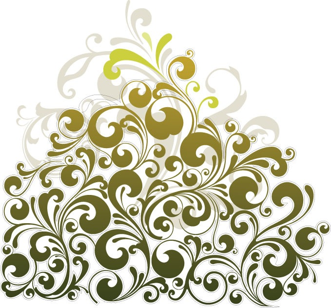 Floral Design Vector Art