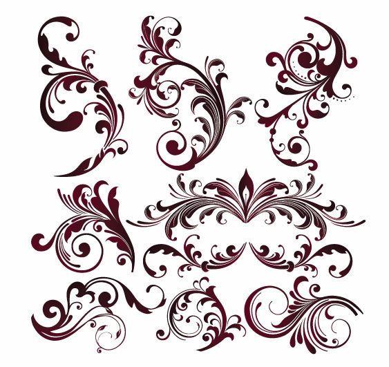Floral Vector Designs