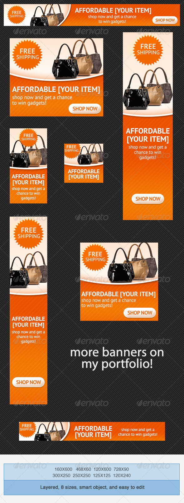 Free Banner Ad Templates Psd