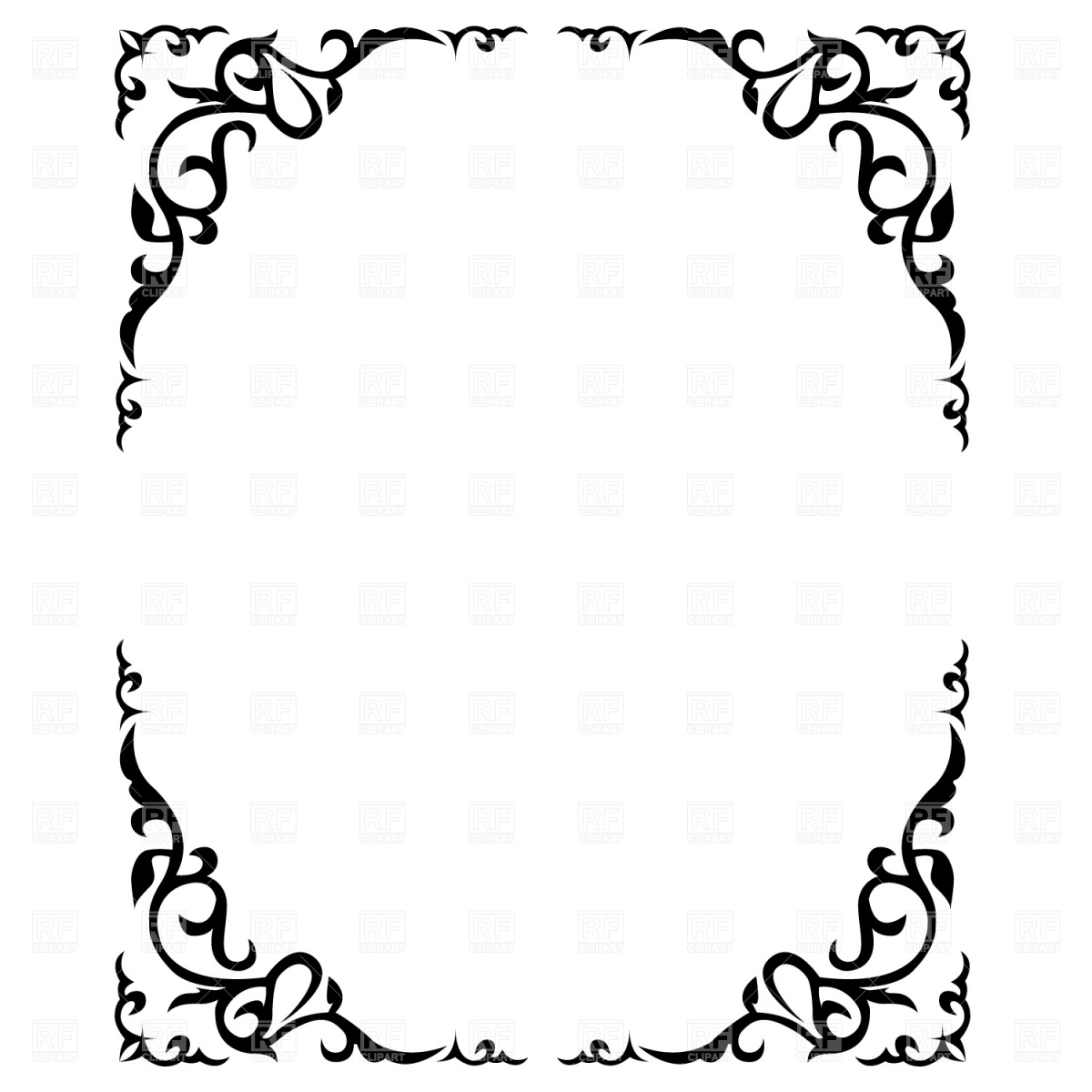 Free Printable Borders and Frames Clip Art