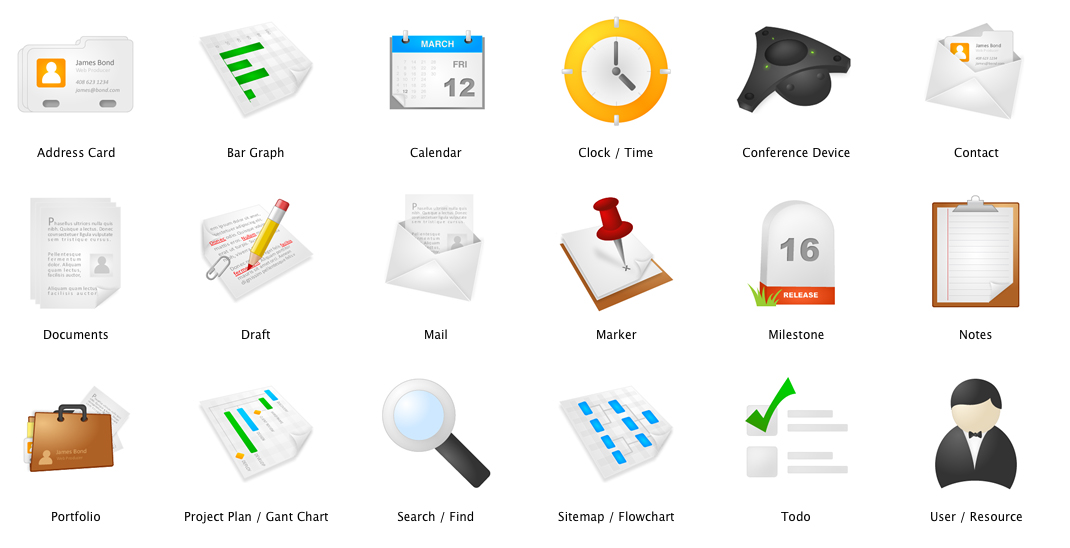 8 Project Management Icon Images