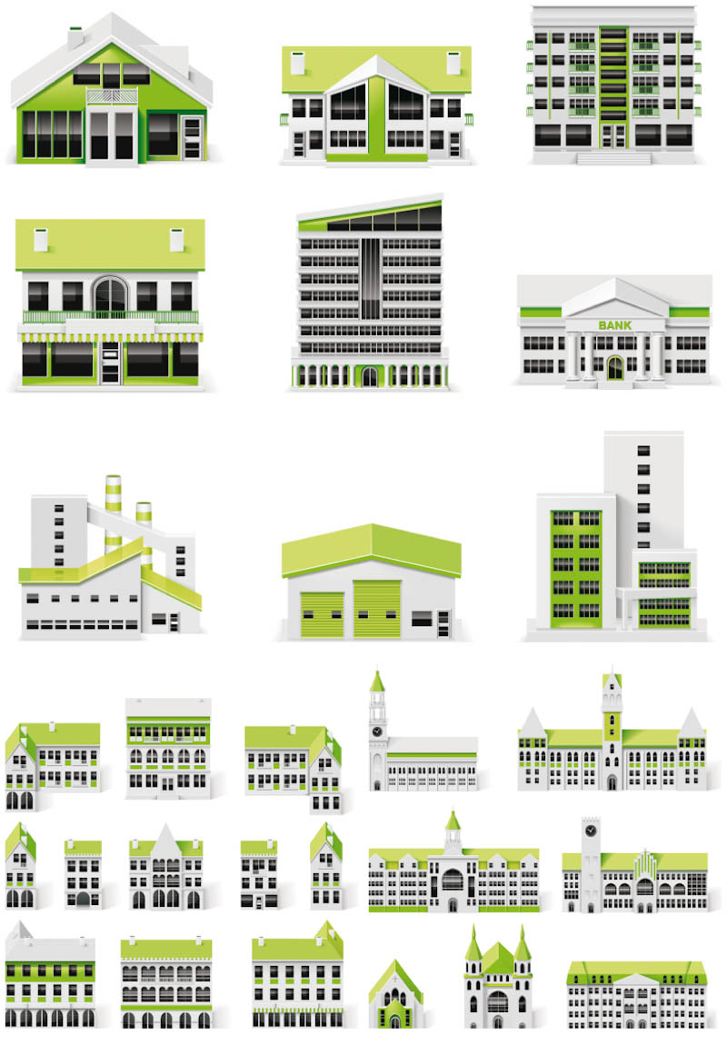 Free Vector Graphics Buildings