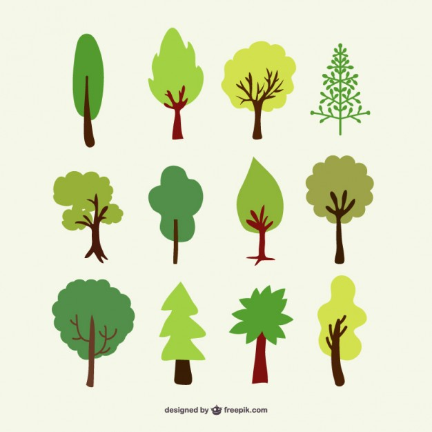 Free Vector Tree Forest