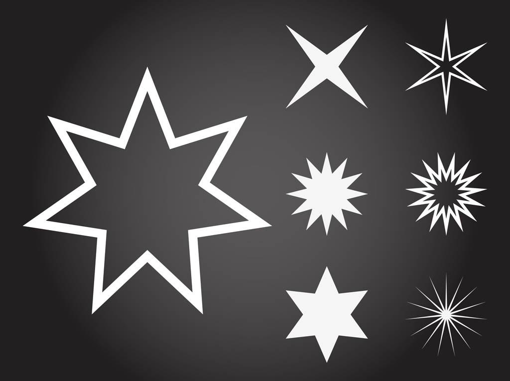 Free Vectors Clip Art Stars