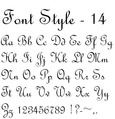 9 Calligraphy Style Fonts Images Calligraphy Tattoo