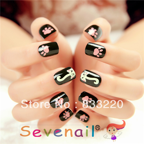 Gel Short Nail Art Designs