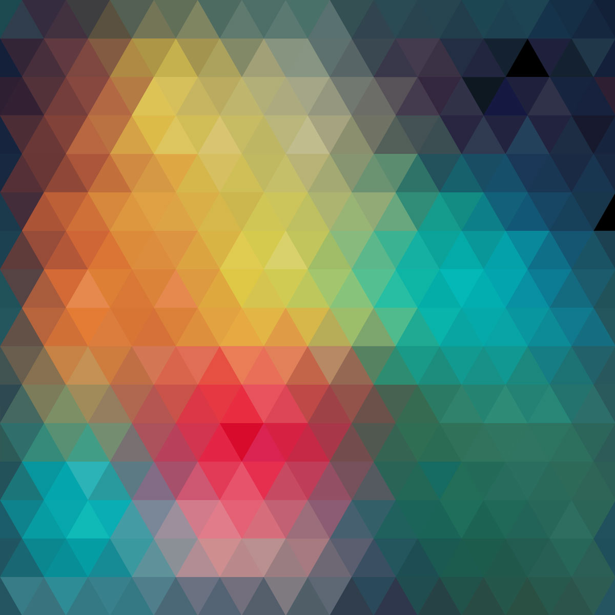 Geometric Abstract Colorful