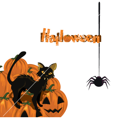 Halloween Cat Vector Art Free Downloads