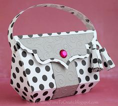 Handbag Paper Purse Template