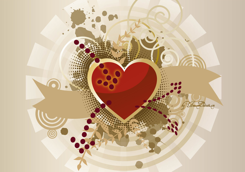 Heart Vector Graphics