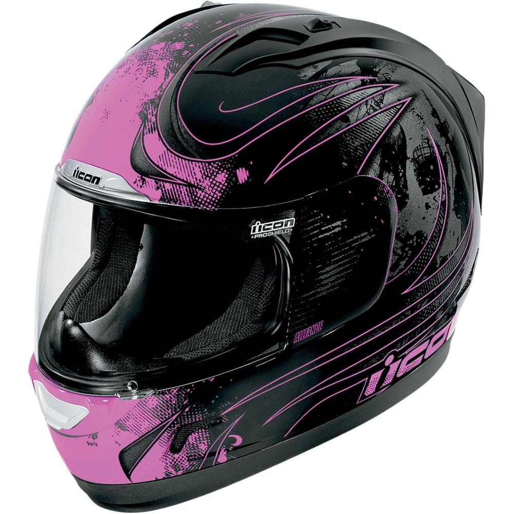 Icon Alliance Threshold Helmet Pink