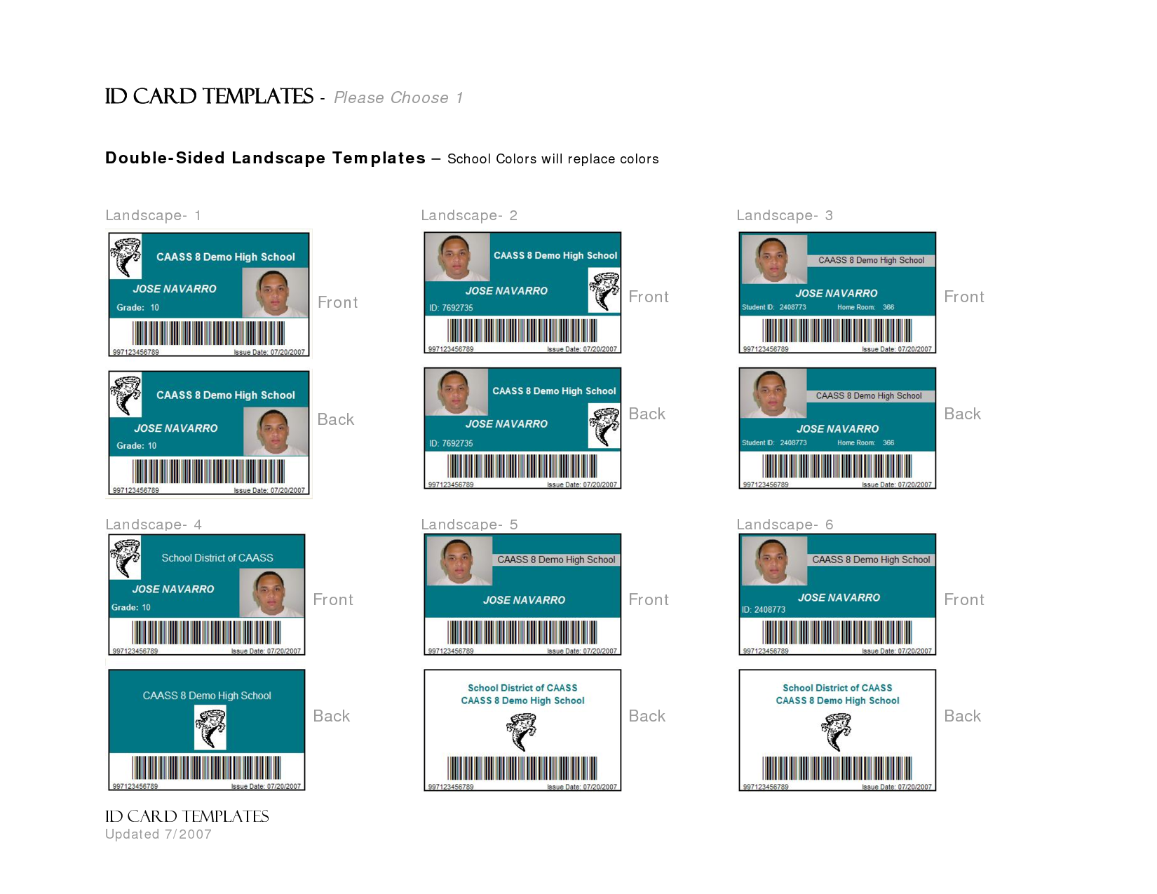 microsoft word id badge template