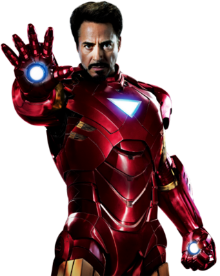 12 Iron Man PSD Images
