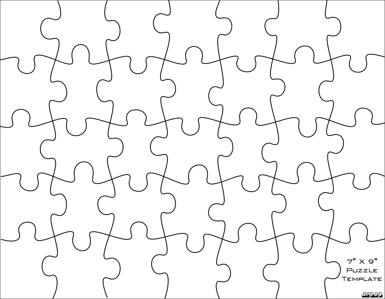 14 For Photoshop PSD Puzzle Pattern Images