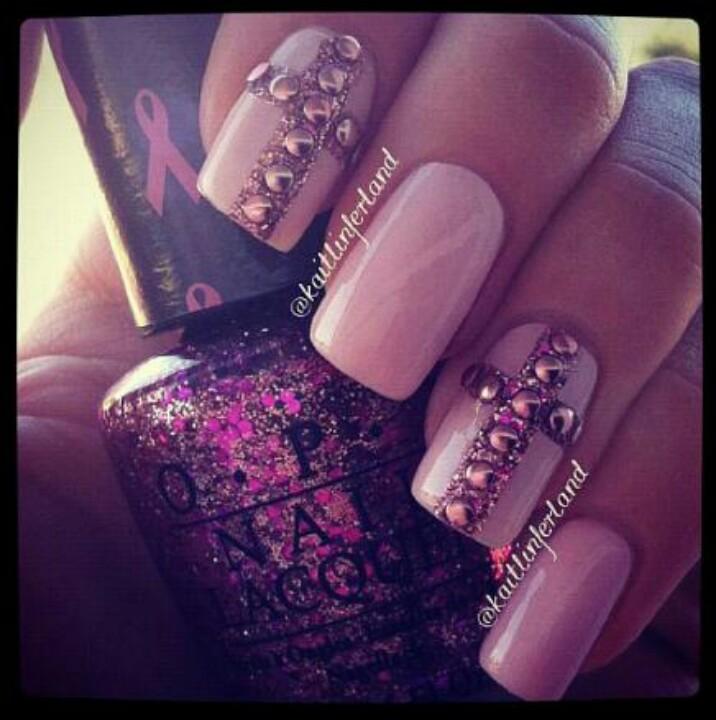 14 Light Purple Glitter Nail Designs Images - Light Purple ...