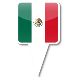 10 Mexico Map Icon Images