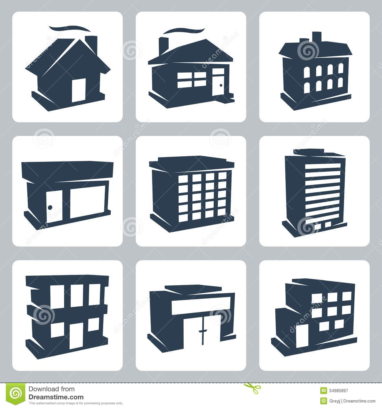 Hd wallpapers building icons vector wallpaper android for Office design vector