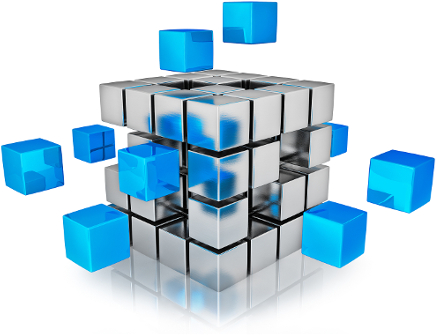9 Business Intelligence Cube Icon Images