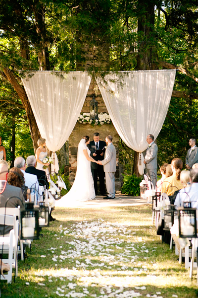 Outdoor Wedding Ceremony Backdrop Ideas
