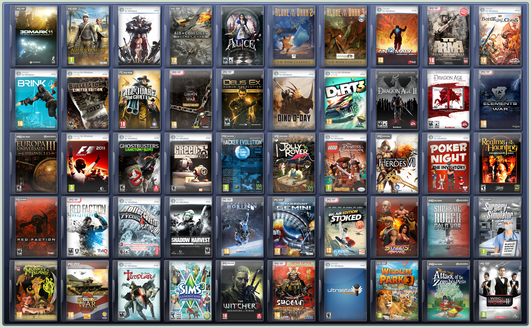 14 Game Icons DeviantART Images - PC Game Icons, PC Game