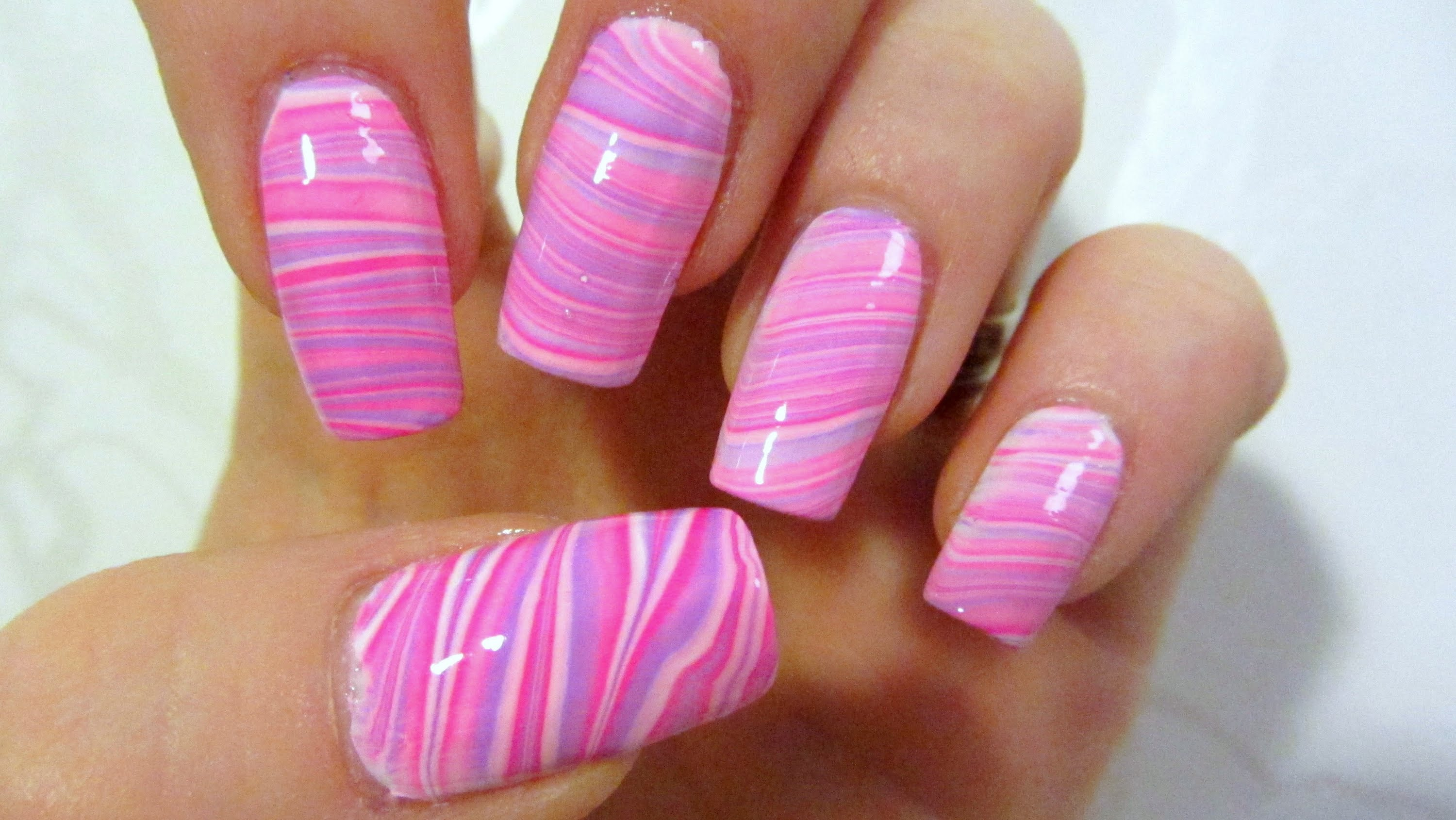 14 Purple And Pink Nail Designs Images