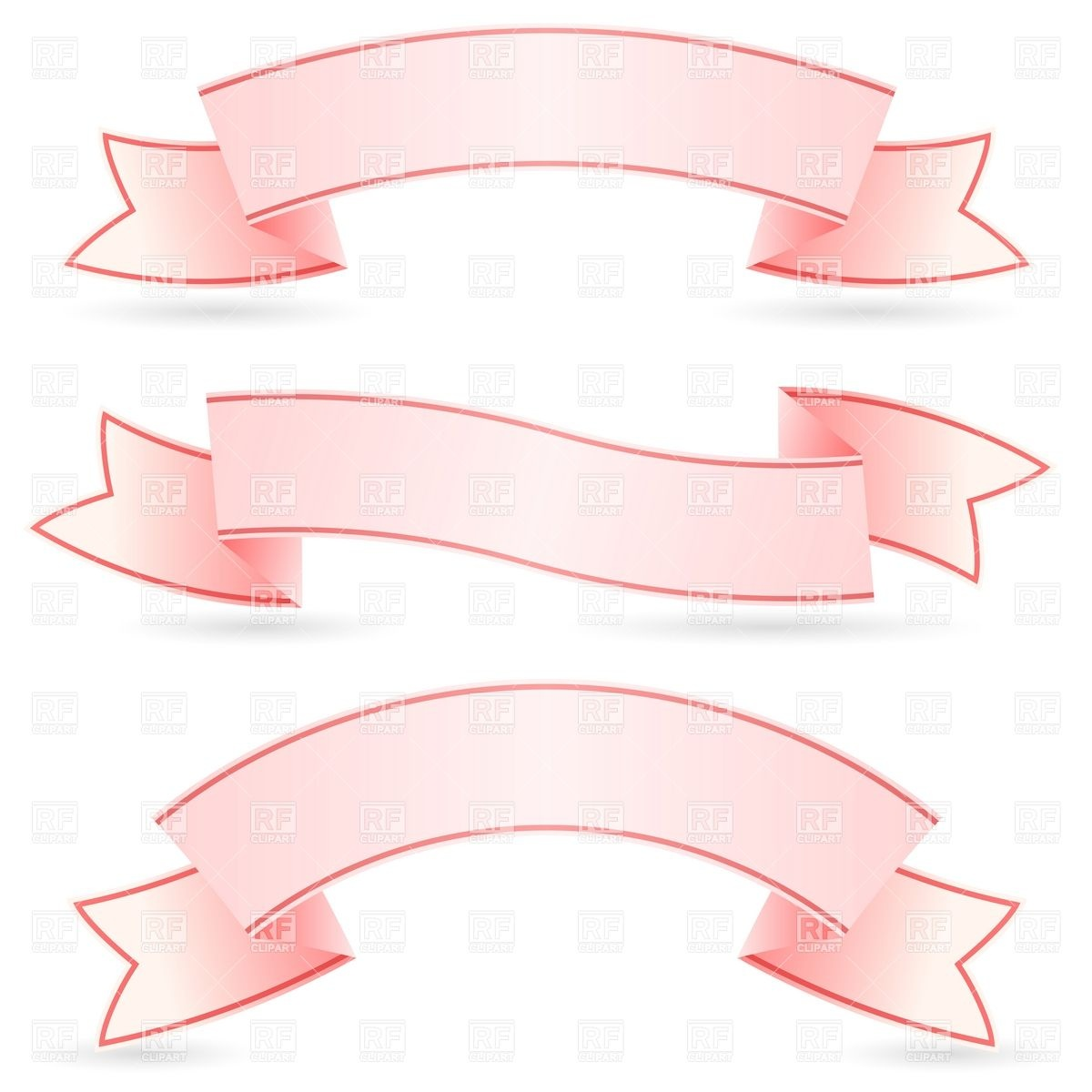 13 Pink Ribbon Banner Vector Free Images