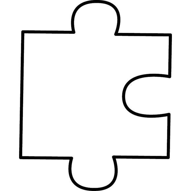 image about Printable Puzzle Piece referred to as 13 Form Template Vector Printable Puzzle Piece Visuals