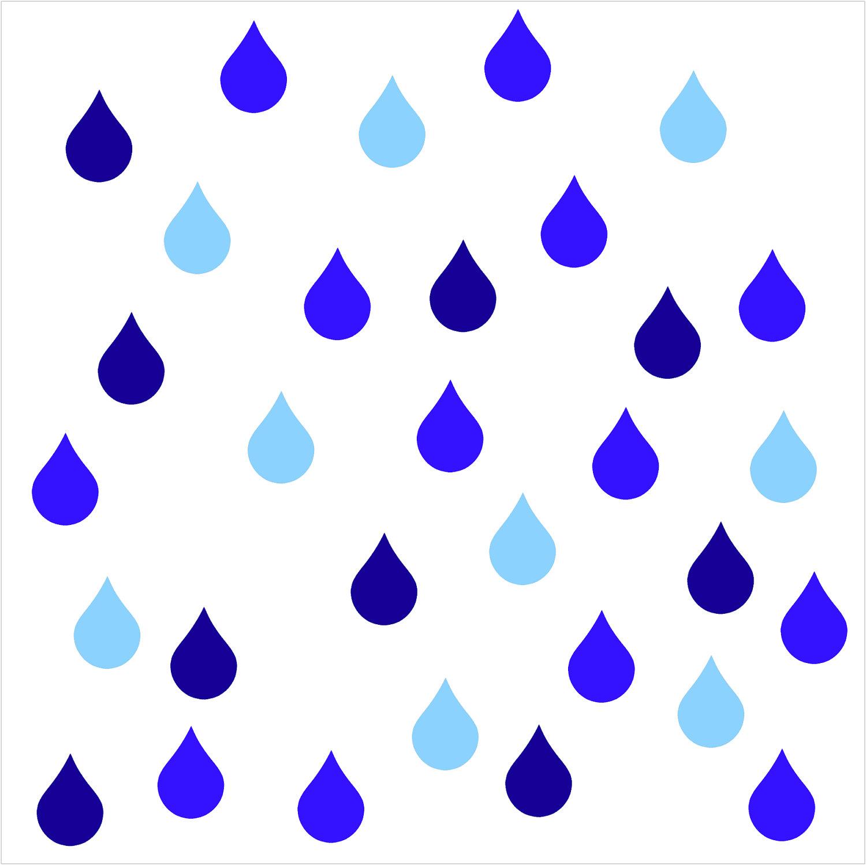 Rain Drops Clip Art