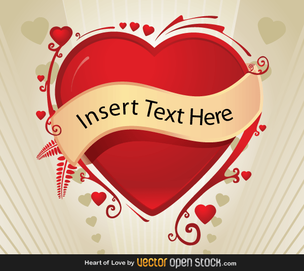 15 Vectors Banner With Hearts Images