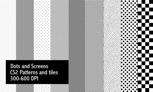 16 Screentone Photoshop Patterns DeviantART Images