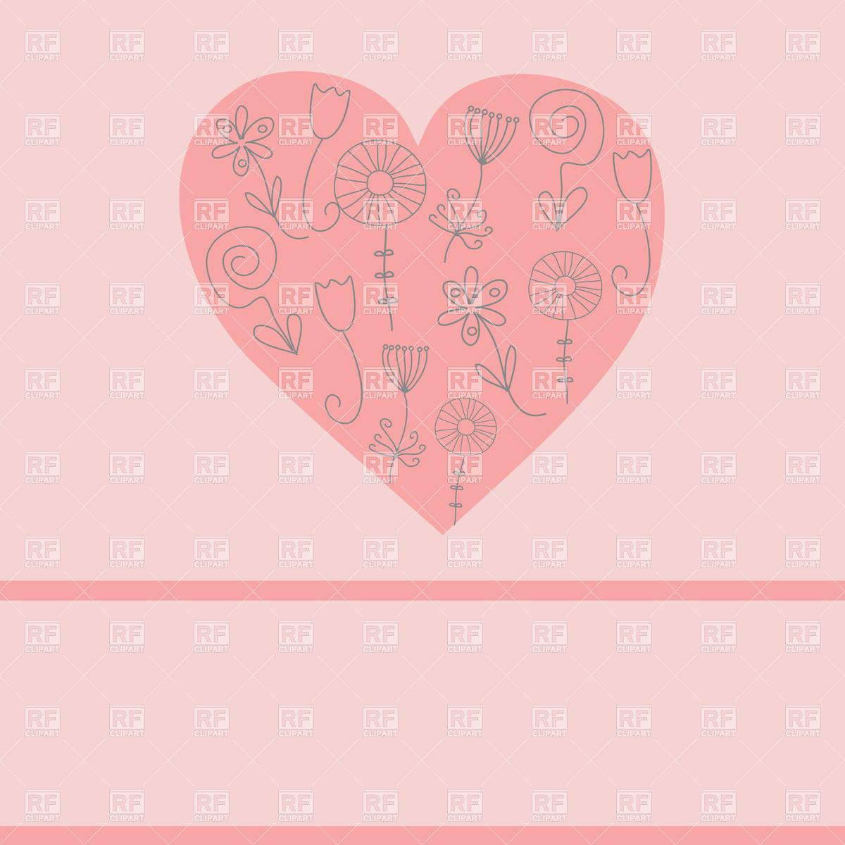 Simple Valentine Clip Art Free