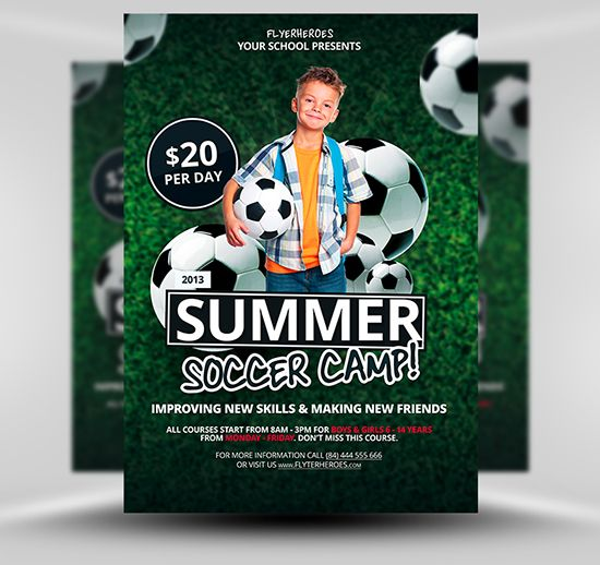 Soccer Flyers Templates Free