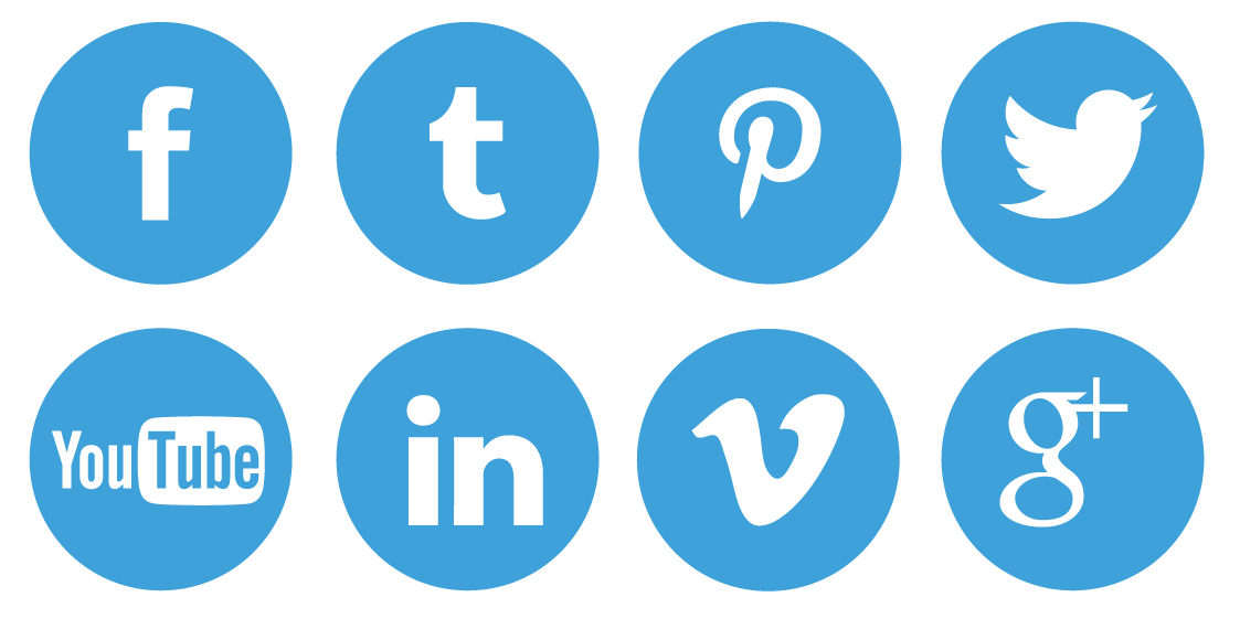 13 Free Social Icon Buttons Images