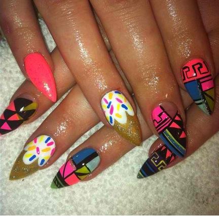 Stiletto Nail Design Tumblr