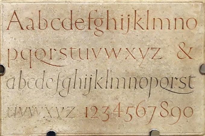 12 Wood Carving Letter Font Images