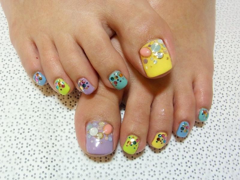 Summer Nail Ideas Toenails Design