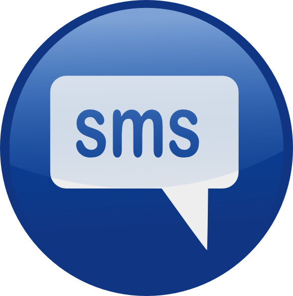 10 Blue SMS Icon Images
