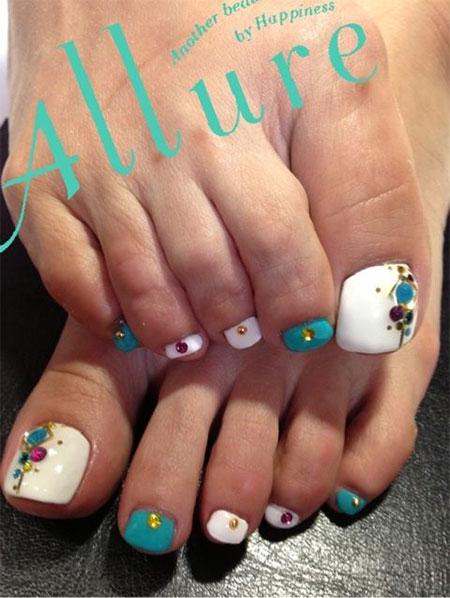 Toe Nail Designs Spring 2014