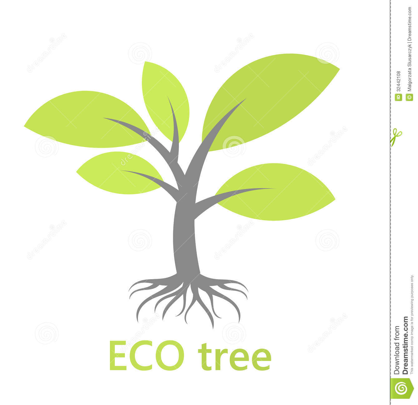 7 Tree With Roots Vector Images