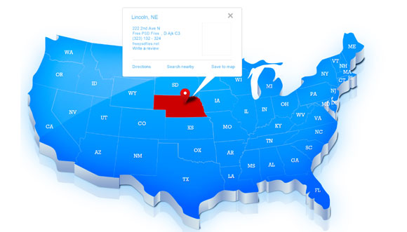 18 PowerPoint Us Map Vector Free Images - Blank USA Map ...