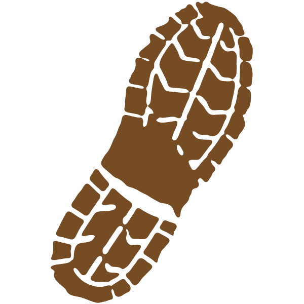14 Boot Print Vector Art Images