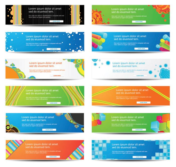 20 Web Banner Design Images