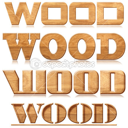19 Font That Looks Like Carving Images - Carved Wood Font