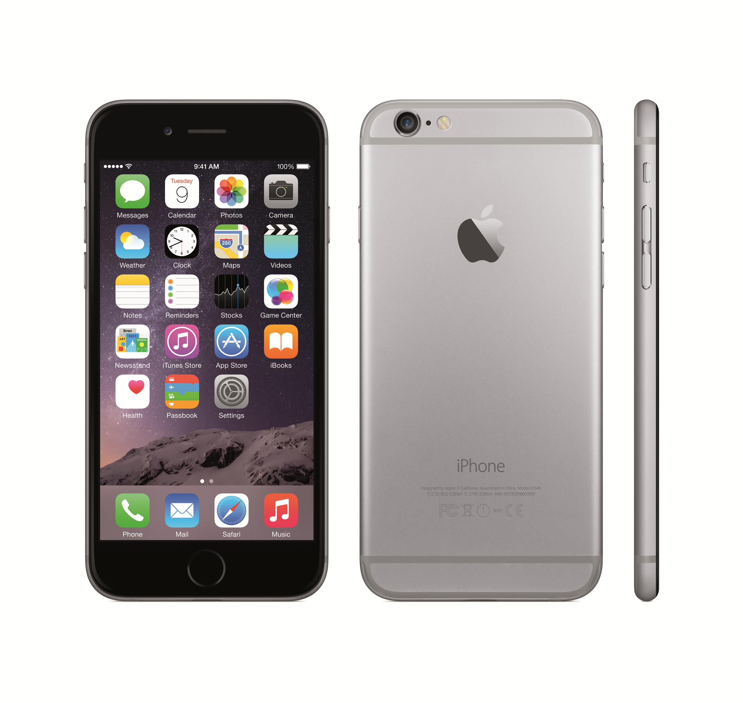 Apple iPhone 6 Front and Back