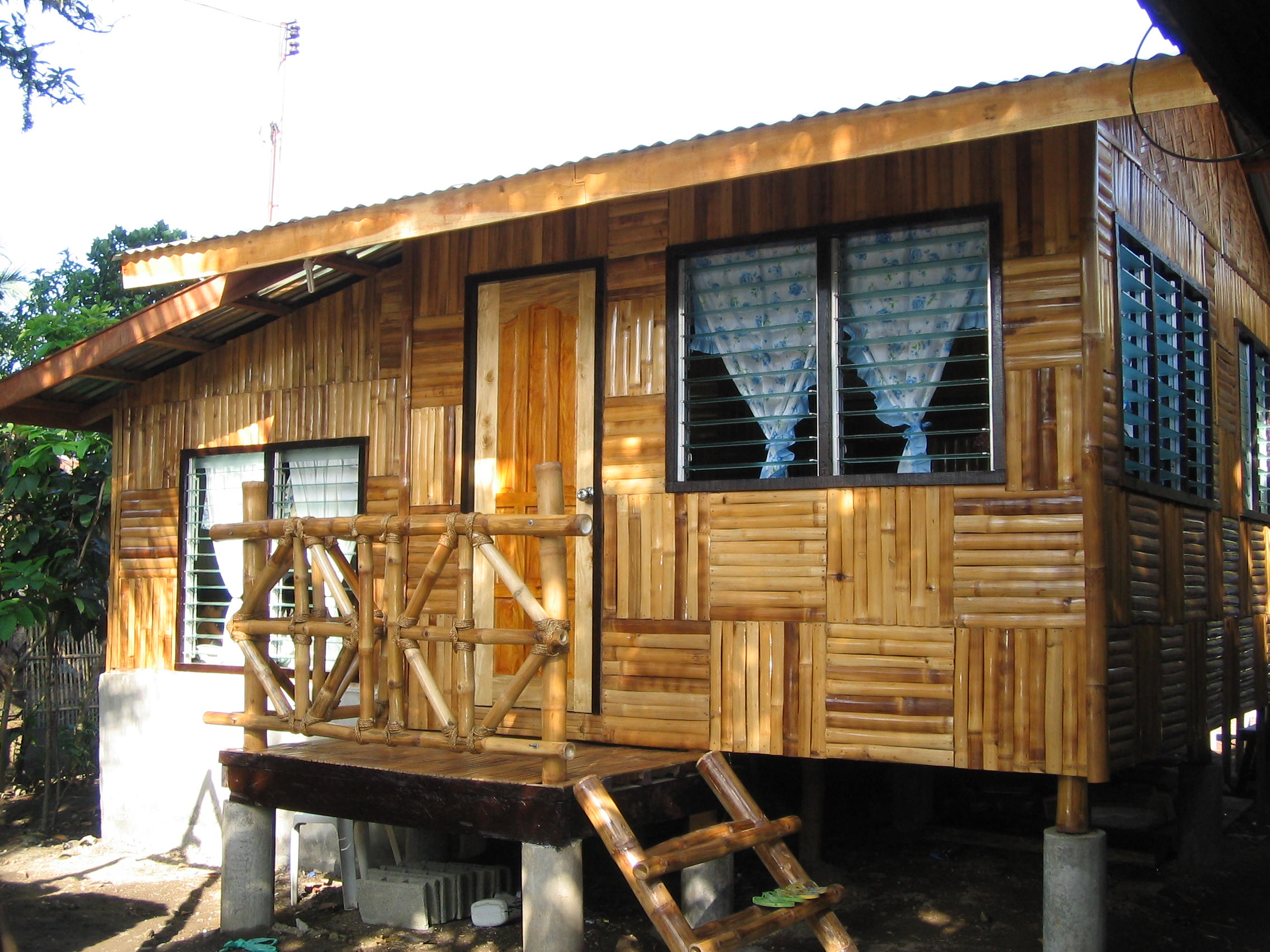 Simple Native House Design Bamboo Philippines